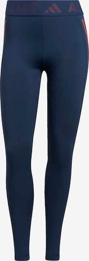 ADIDAS PERFORMANCE Pantalón deportivo en navy / naranja, Vista del producto