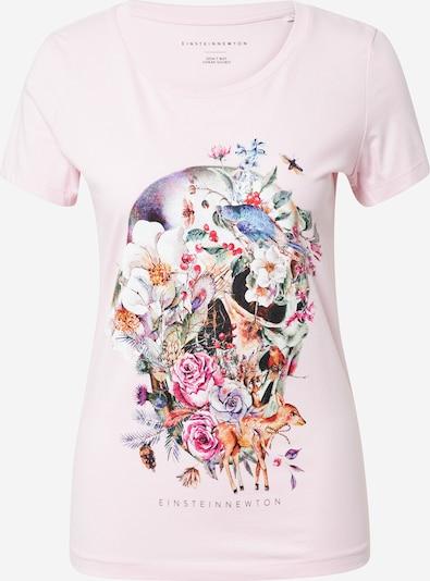 EINSTEIN & NEWTON T-Krekls 'Totenkopf', krāsa - jauktu krāsu / gaiši rozā, Preces skats