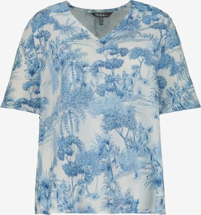 Ulla Popken Tunika in blau / offwhite, Produktansicht