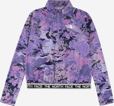 THE NORTH FACE Sportjas 'REACTOR' in de kleur Lila / Pruim / Lavendel / Wit, Productweergave