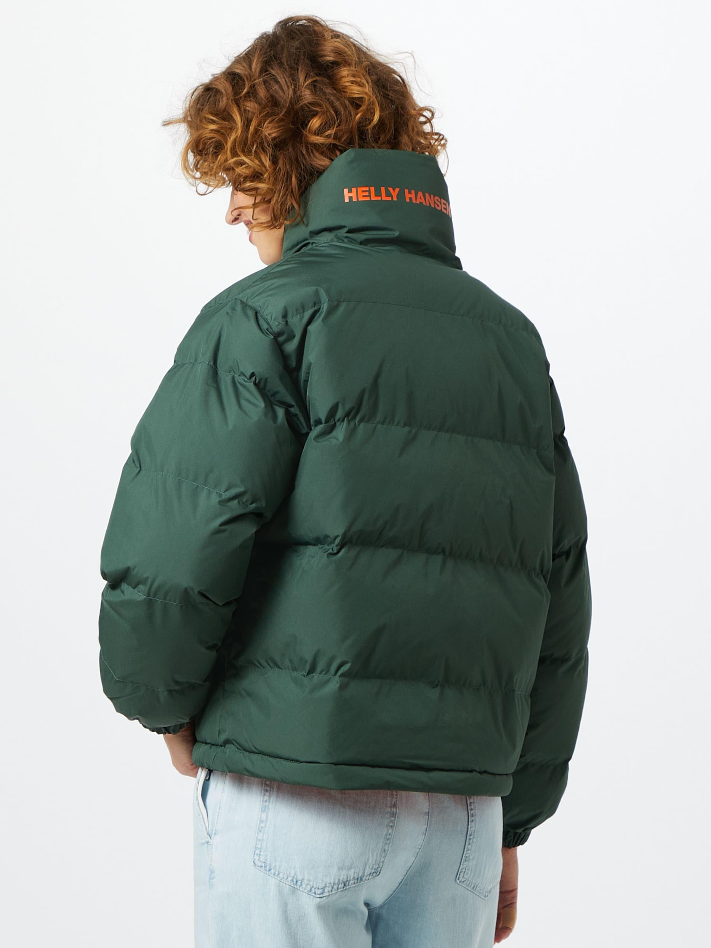 HELLY HANSEN Reversible Jacke 'Urban' in grün / orange