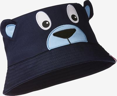 Affenzahn Hut in nachtblau / hellblau / schwarz / weiß, Produktansicht