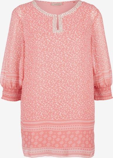 TRIANGLE Bluse in rosa / weiß, Produktansicht