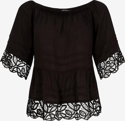 COMMA Crêpebluse in schwarz, Produktansicht