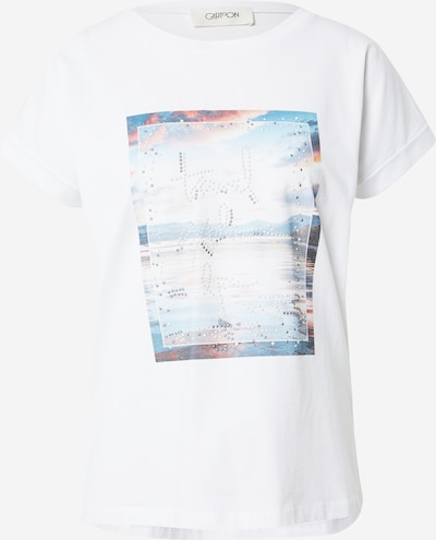 Cartoon Tričko - námornícka modrá / opálová / svetlomodrá / pastelovo červená / biela, Produkt