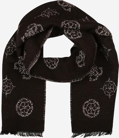 GUESS Sjal i mørkebrun / hvid, Produktvisning