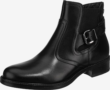 TAMARIS Chelsea Boots in Black