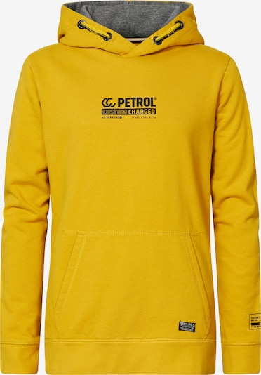 Petrol Industries Džemperis, krāsa - dzeltens, Preces skats