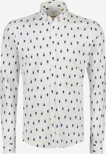NEW IN TOWN Overhemd in de kleur Donkerblauw / Wit, Productweergave