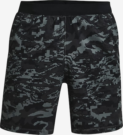 UNDER ARMOUR Shorts ' Launch ' in grau / schwarz, Produktansicht