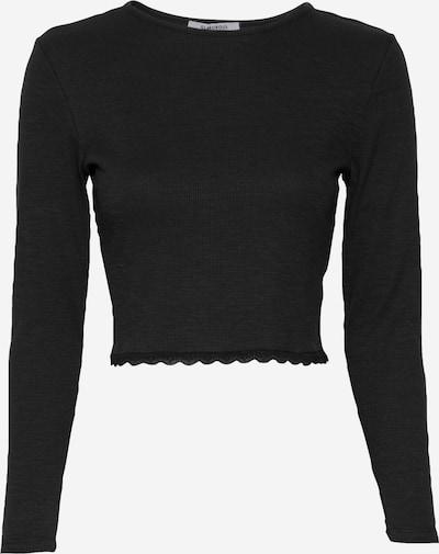GLAMOROUS T-shirt en noir, Vue avec produit