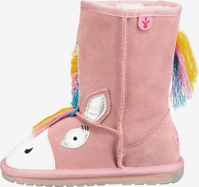 EMU AUSTRALIA Stiefel in türkis / altrosa / weiß, Produktansicht