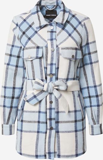 Tally Weijl Jacke in blau / schwarz / weiß, Produktansicht