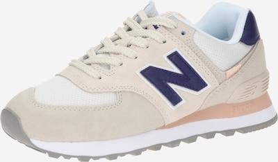 new balance Sneaker '574' in beige / navy / weiß, Produktansicht