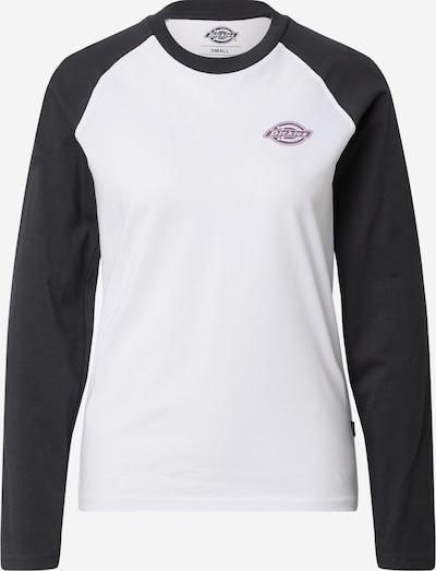 DICKIES T-shirt 'Madelia' en noir / blanc, Vue avec produit