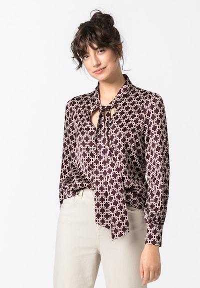 HALLHUBER Bluse in bordeaux, Modelansicht