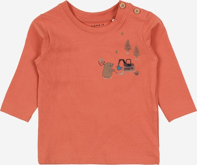 NAME IT Camiseta en azul / amarillo / gris / coral / rojo oscuro, Vista del producto