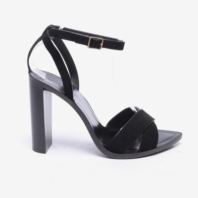 Saint Laurent Sandaletten in 39,5 in schwarz, Produktansicht