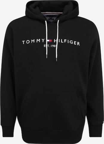 Felpa di Tommy Hilfiger Big & Tall in nero