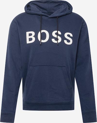 BOSS Casual Sweatshirt 'Zeefast' in Dark blue / White, Item view