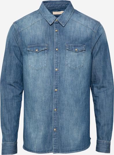 AllSaints Hemd in blue denim, Produktansicht