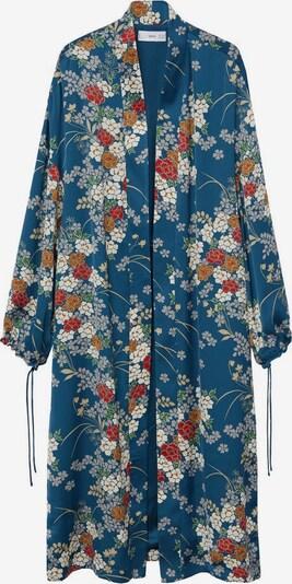 MANGO Kimono 'Petal' in blau / mischfarben, Produktansicht