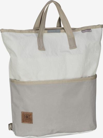 360 Grad Rucksack / Daypack ' Ketsch Mini ' in grau / hellgrau, Produktansicht