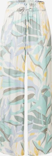 s.Oliver Hose in creme / hellblau / gelb / mint / weiß, Produktansicht