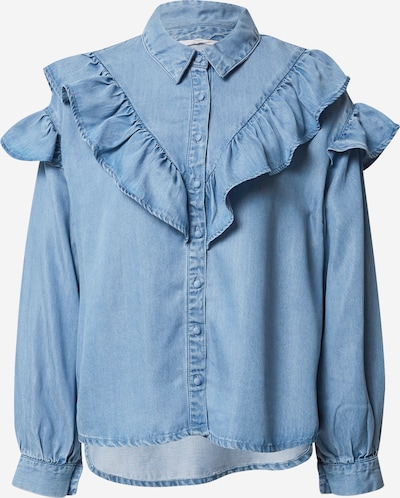 Camicia da donna 'Betsy' ONLY di colore blu denim: Vista frontale