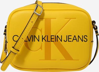 Calvin Klein Jeans Umhängetasche in gelb / schwarz, Produktansicht