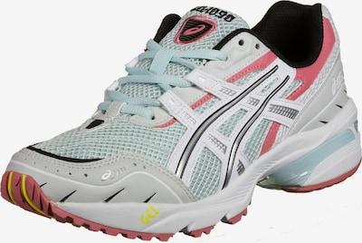 ASICS SportStyle Loopschoen 'Gel-1090' in de kleur Azuur / Lichtgrijs / Pink / Zwart, Productweergave