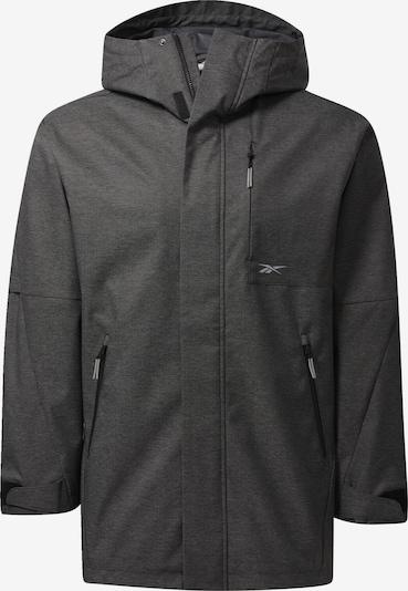 Reebok Sport Jacke in schwarz, Produktansicht