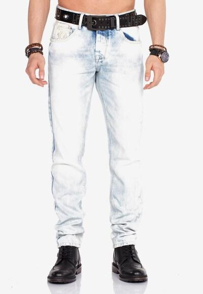 CIPO & BAXX Jeanshose in blue denim, Modelansicht