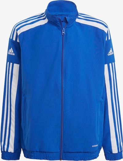 ADIDAS PERFORMANCE Sportjacke in kobaltblau / weiß, Produktansicht