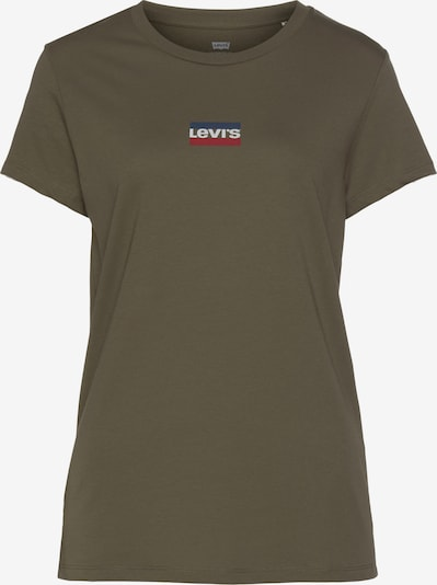 LEVI'S Shirt in braun / rot / weiß, Produktansicht