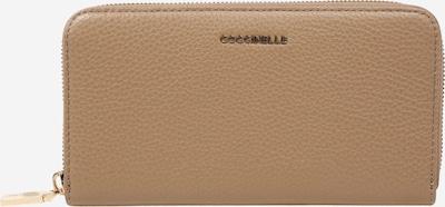 Coccinelle Geldbörse 'Metallic Soft' in beige, Produktansicht