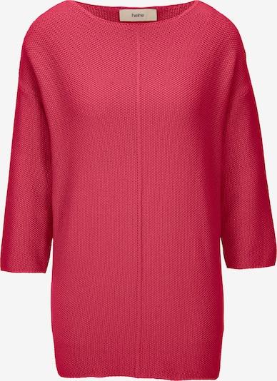 heine Pullover  'Oversized Pullover' in himbeer, Produktansicht