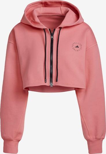 adidas by Stella McCartney Veste de survêtement en rose / noir, Vue avec produit