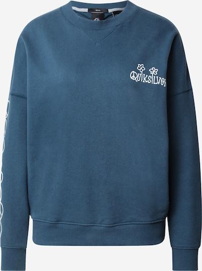 QUIKSILVER Sweatshirt ' BOXY ' in de kleur Blauw / Wit, Productweergave