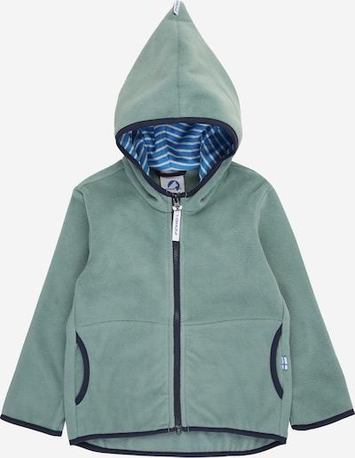 FINKID Flisová bunda 'PAUKKU' - námornícka modrá / pastelovo zelená, Produkt