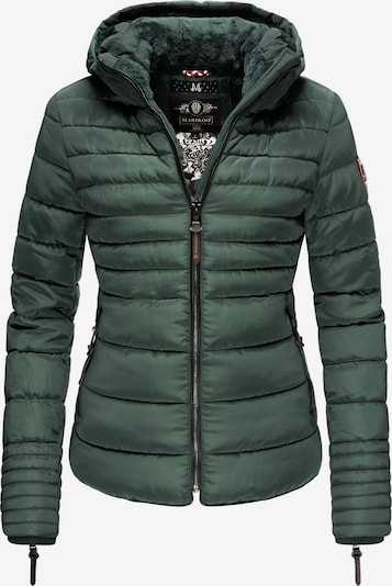 MARIKOO Winterjacke ' Amber ' in grün, Produktansicht
