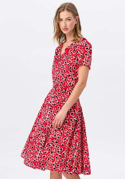 Uta Raasch Kleid in rot / schwarz / weiß, Modelansicht