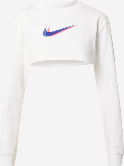 Nike Sportswear Mikina - modrá / ružová / biela, Produkt