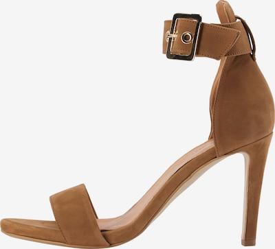 DreiMaster Klassik Sandalen met riem in de kleur Cognac, Productweergave