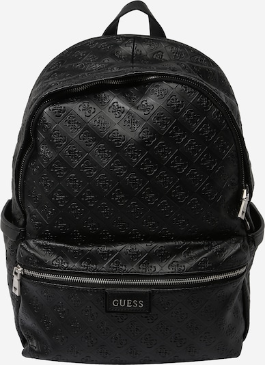 GUESS Backpack 'VEZZOLA' in Black: Frontal view