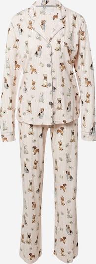 PJ Salvage Pyjama in de kleur Gemengde kleuren / Rosa, Productweergave