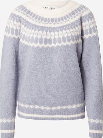 Lollys Laundry Pullover 'Lana' in Blau