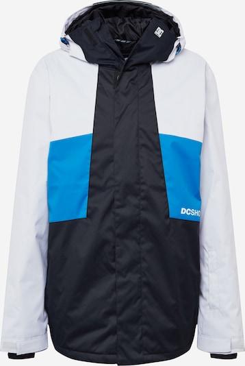 DC Shoes Zunanja jakna 'DEFY' | nebeško modra / črna / bela barva, Prikaz izdelka