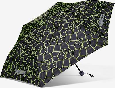 ergobag Regenschirm in grün / hellgrün / schwarz, Produktansicht