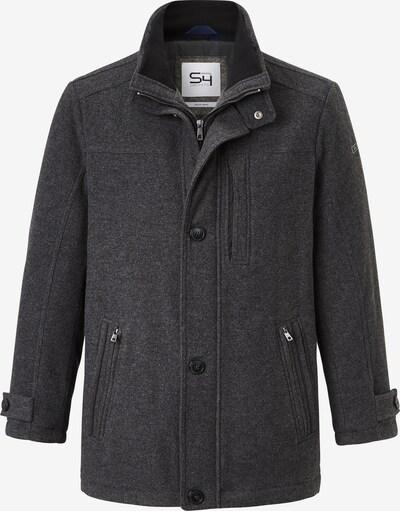 S4 Jackets Wollmantel in dunkelgrau, Produktansicht
